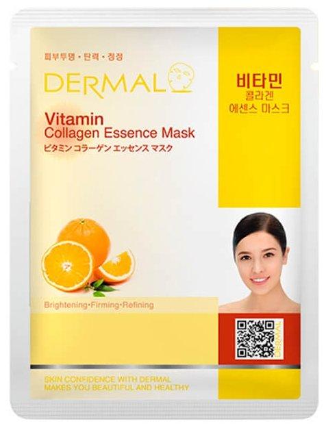 DERMAL тканевая маска с коллагеном и витамином С