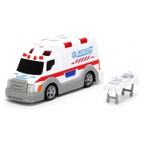 Купить Фургон Dickie Toys Скорая помощь (203302004) 15 см белый/серый, Машинки и техника