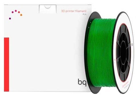 PLA пруток BQ 1.75 мм темно-зеленый (grass green) 1 кг