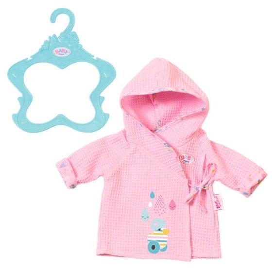 Zapf Creation Банный халат для куклы Baby Born 824665