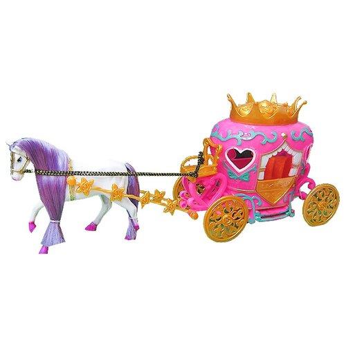 Купить Shenzhen Toys карета с лошадью (689A), Транспорт для кукол