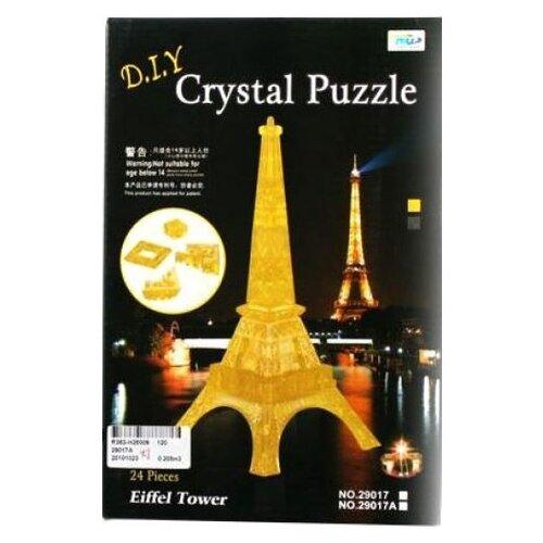 3D-пазл Shantou Gepai 3D Эйфелева башня (29017A), 24 дет. пазл 3d shantou gepai заяц 56 элементов 9027