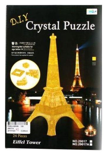 3D-пазл Shantou Gepai 3D Эйфелева башня (29017A), 24 дет.