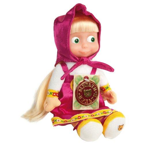 Купить Мягкая игрушка Мульти-Пульти Маша 5 фраз и песенка 22 см, Мягкие игрушки