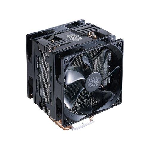 Фото - Кулер для процессора Cooler Master Hyper 212 LED Turbo Black Top Cover кулер для процессора cooler master hyper 212 spectrum rr 212a 20pd r1