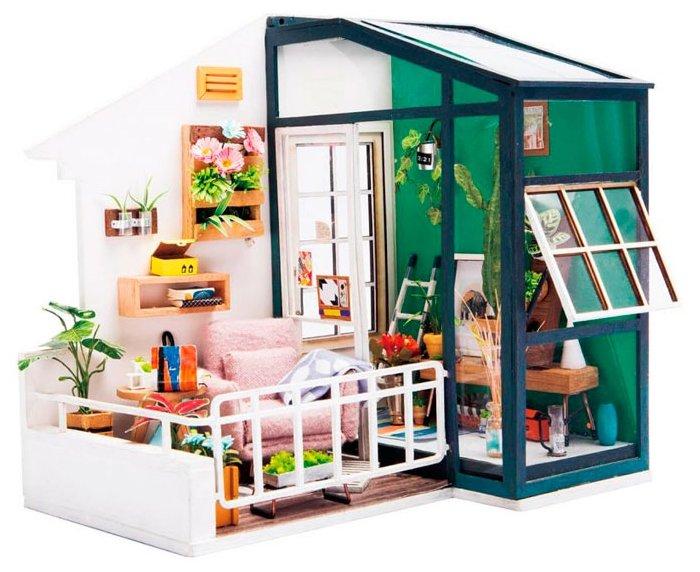 Сборная модель Rolife Румбокс Балкон мечты (DGM05),