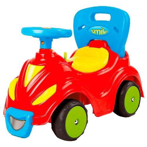 Каталка-толокар Dolu Smile Car 2 in 1 (8004) красный каталка толокар orion toys мотоцикл 2 х колесный 501 зеленый
