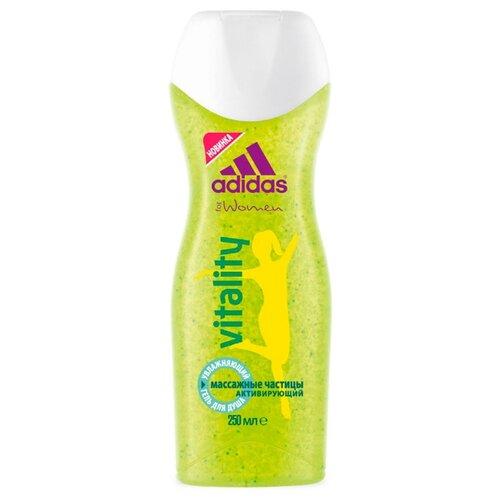 Гель для душа Adidas Vitality для женщин, 250 мл adidas гель для душа шампунь и гель для умывания body hair face after sport мужской 250 мл