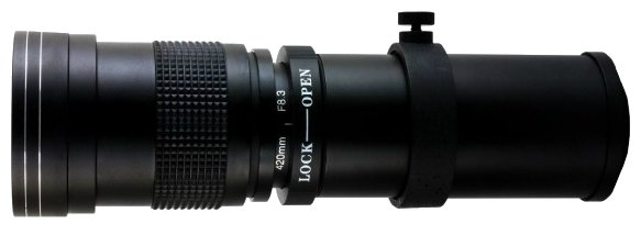 Объектив Opteka 420-800mm f/8.3 Canon EF