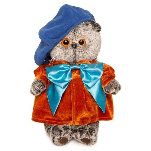 Купить Мягкая игрушка Basik&Co Кот Басик художник 25 см, Мягкие игрушки