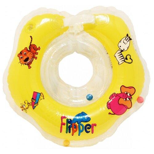 Круг на шею Flipper FL001 желтый