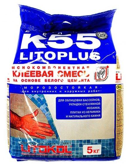 Клей Litokol Litoplus K55 5 кг