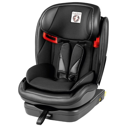 Автокресло группа 1/2/3 (9-36 кг) Peg-Perego Viaggio 1-2-3 Via Isofix, licorice