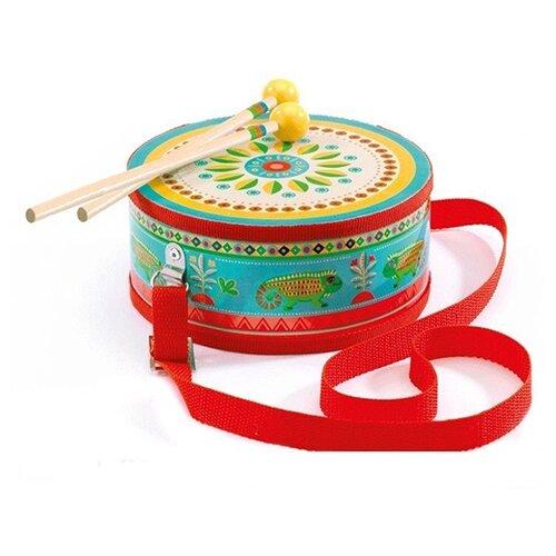 Купить DJECO барабан 06004 голубой/красный, Детские музыкальные инструменты