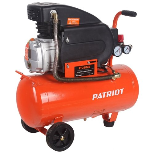 Компрессор масляный PATRIOT PT 24-240, 24 л, 1.5 кВт