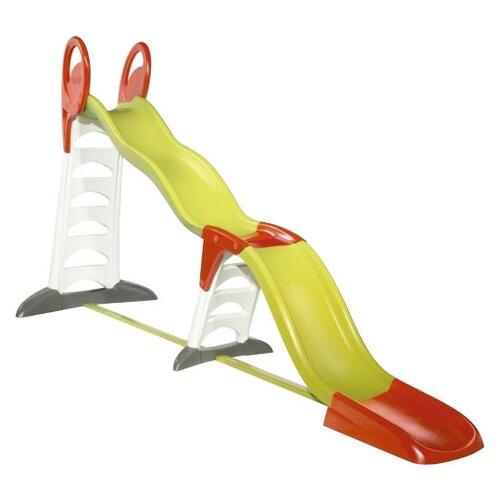 Купить Горка Smoby Мега-горка 2 в 1 310260 зеленый, Игровые и спортивные комплексы и горки