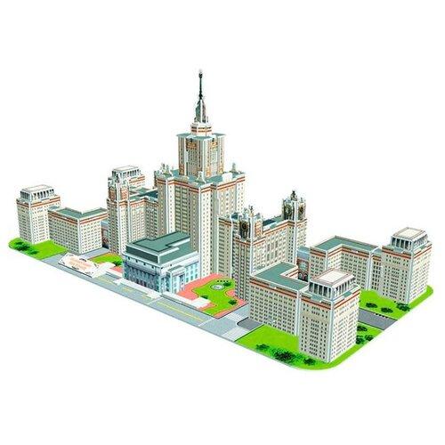 Купить 3D-пазл CubicFun Московский государственный университет (MC161h), элементов: 118 шт., Пазлы
