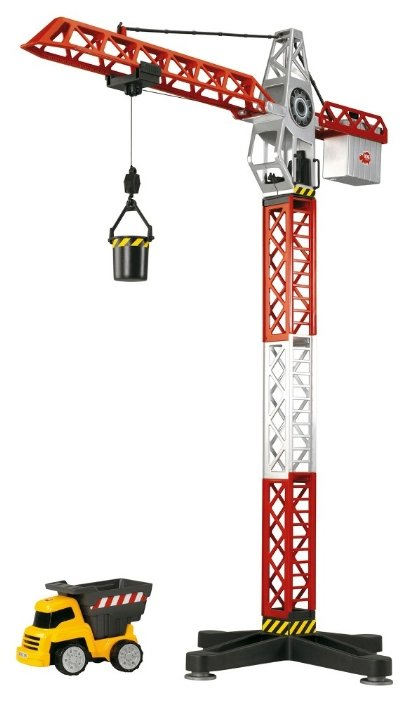 Набор техники Dickie Toys Кран с машинкой (3463337)