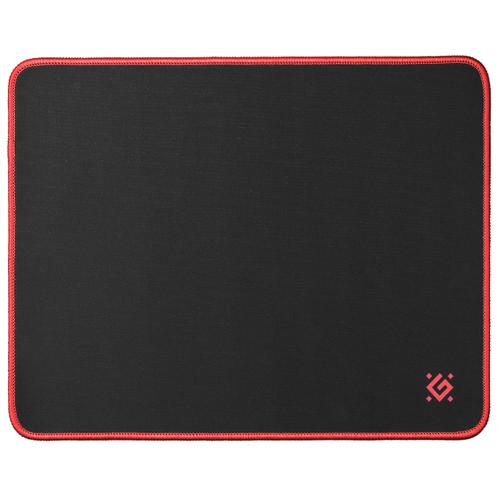 Коврик Defender Black M (50560) черный / красный