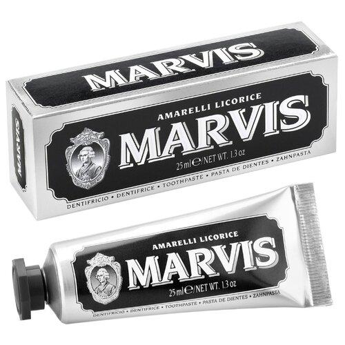 Зубная паста Marvis Amarelli Licorice, 25 мл marvis flavour collection set