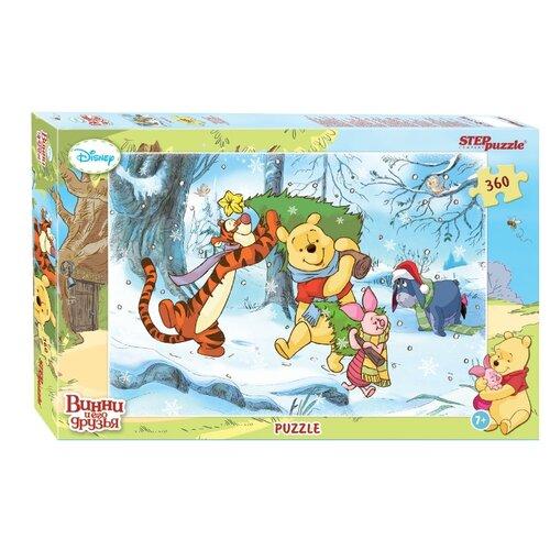 Пазл Step puzzle Disney Медвежонок Винни Праздник (94021), 360 дет.