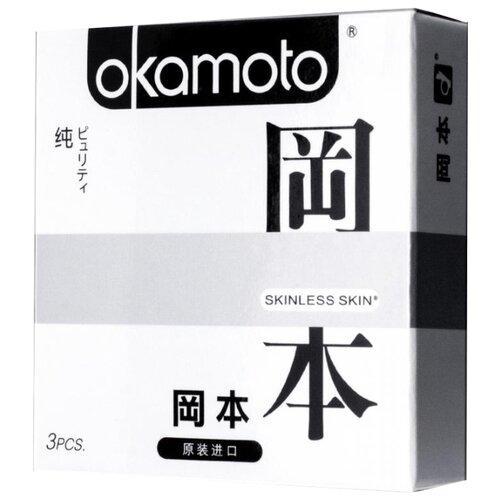 Презервативы Okamoto Skinless Skin Purity (3 шт.) презервативы my size 49 160 36 шт