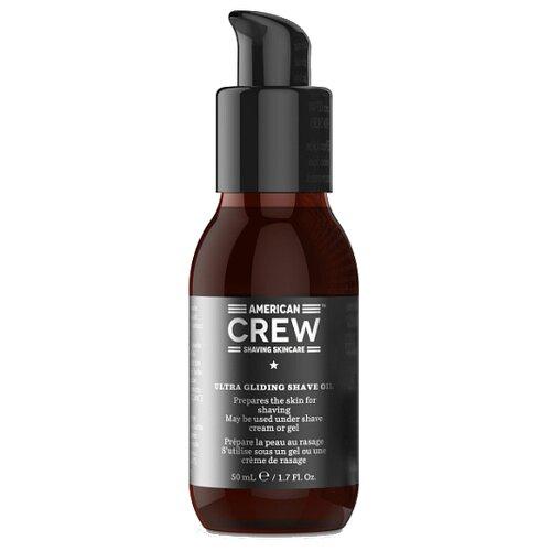 Фото - Ultra Gliding Shave Oil / Lubricating Shave Oil American Crew, 50 мл american crew очищающее средство для бороды 70 мл american crew для бритья shave