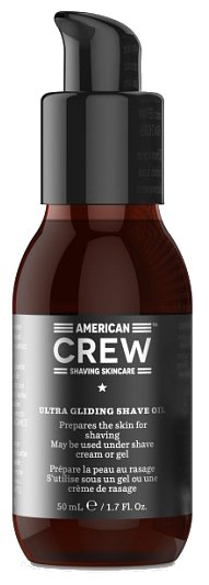 Ultra Gliding Shave Oil / Lubricating Shave Oil American Crew