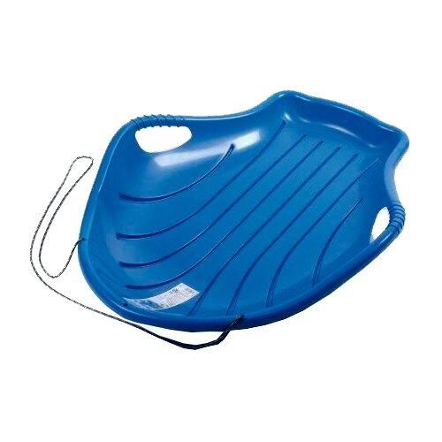 Ледянка Пластик Снежный Скат (С100) синий пластик ледянка снежный вихрь салатовая