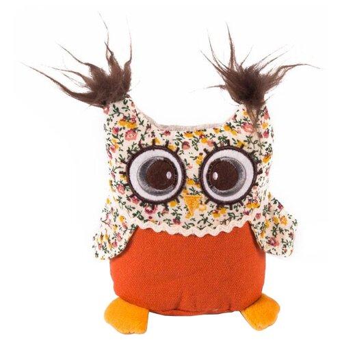 Купить Мягкая игрушка Gulliver Совёнок с вышивкой 14 см, Мягкие игрушки