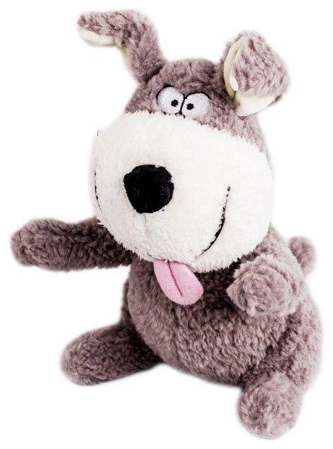 Мягкая игрушка Button Blue Собака Улыбака 22 см