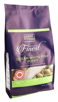 Корм для собак Fish4Dogs Finest Ocean White Fish Puppy - Large Bite