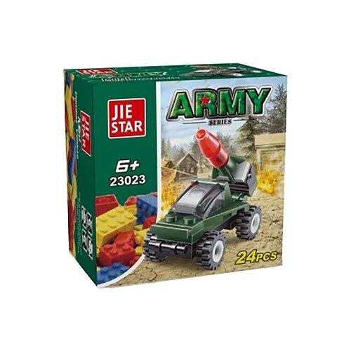 Конструктор Jie Star Army 23023 Зенитная машина