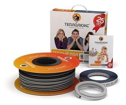 Электрический теплый пол Теплолюкс 20ТЛОЭ2-125 2500Вт