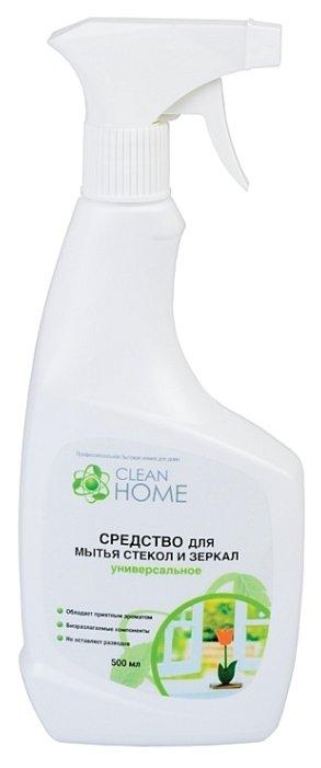Спрей Clean Home для мытья стекол и зеркал