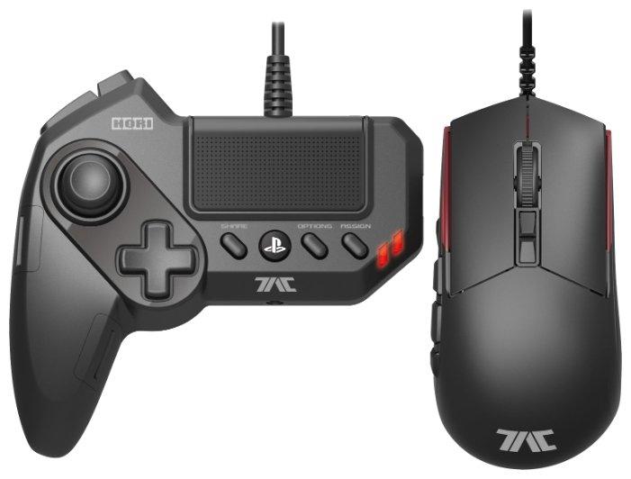 HORI Клавиатура и мышь HORI T.A.C. Grips Black USB