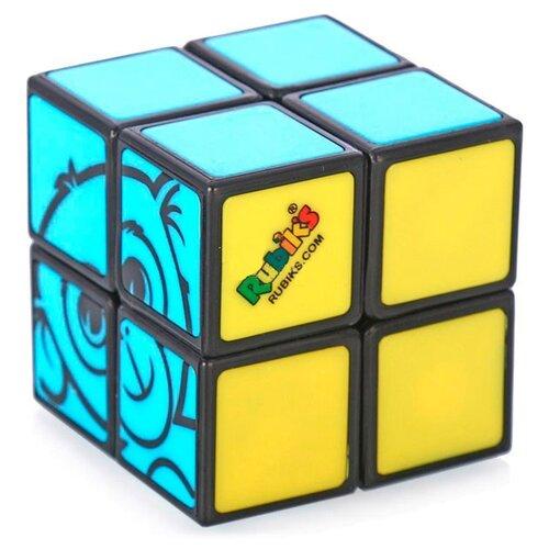Головоломка Rubik's Кубик Рубика Детский 2х2 (КР5015) черный/желтый/голубой цена 2017
