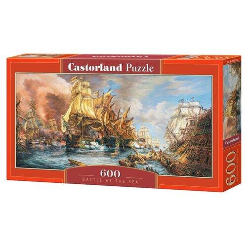 Купить Пазл Castorland Battle at the Sea (B-060252), 600 дет., Пазлы