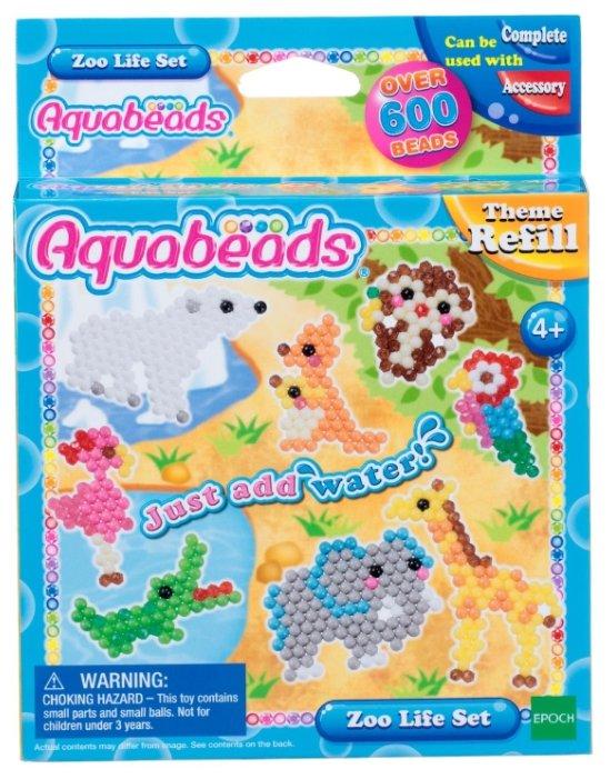Набор для творчества Aquabeads Зверюшки в зоопарке 31078