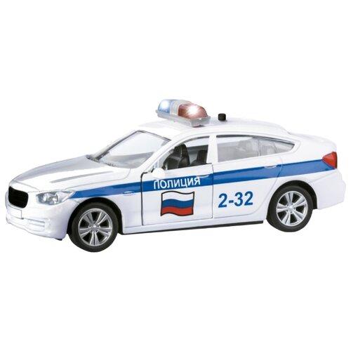 Легковой автомобиль Autogrand Bavaria Gran Turismo полиция (49547) 1:36 белый