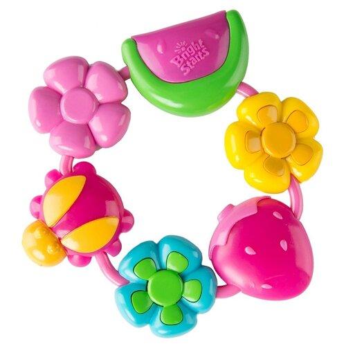 Купить Прорезыватель Bright Starts Летний день розовый, Погремушки и прорезыватели