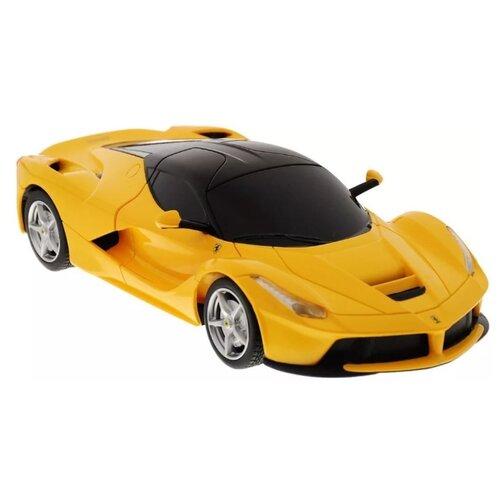 Легковой автомобиль Rastar Ferrari LaFerrari (48900) 1:24 19 см желтый легковой автомобиль rastar ferrari 458 italia 47300 1 14 32 5 см красный