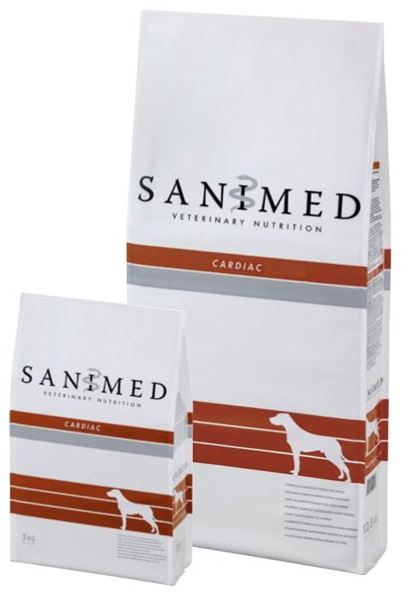 Корм для собак SANIMed Cardiac для собак всех пород
