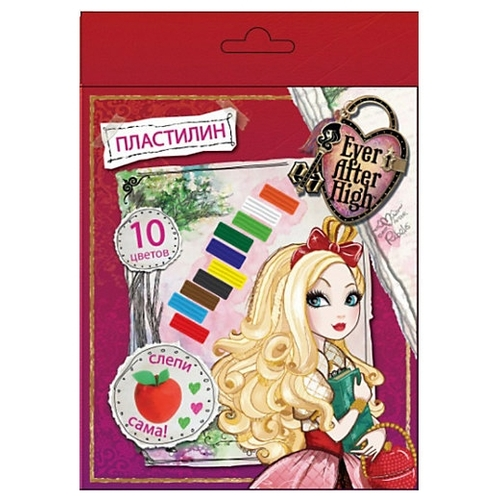 Пластилин CENTRUM Ever After High 10 цветов (85856)