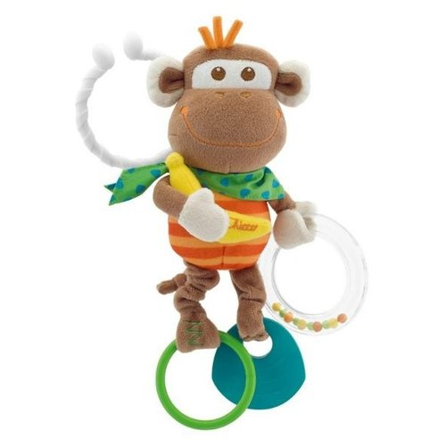 Подвесная игрушка Chicco Обезьянка (0907) коричневыйПодвески<br>