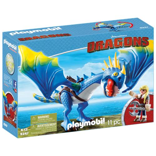 Набор с элементами конструктора Playmobil Dragons 9247 Астрид и МолнияКонструкторы<br>
