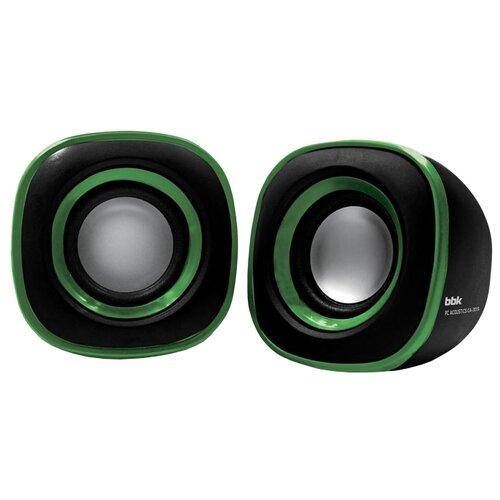 Компьютерная акустика BBK CA-301S черный / зеленый