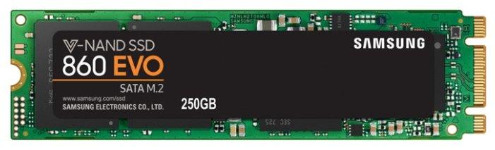 Твердотельный накопитель Samsung 860 EVO MZ-N6E250BW 250 GB — цены на Яндекс.Маркете