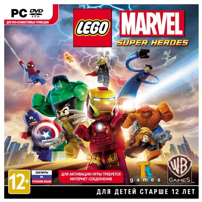 LEGO Marvel Super Heroes фото 1