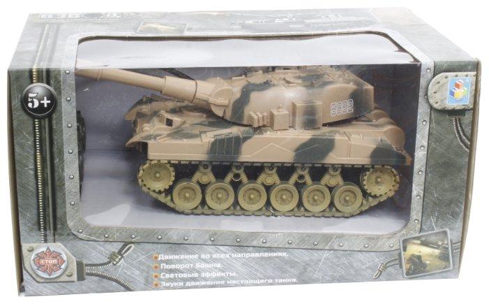 Танк 1 TOY Взвод (Т59145) 17 см фото 1